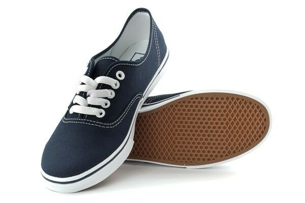 NEU WOMEN VANS AUTHENTIC LO PRO NAVY TRUE WEISS ORG
