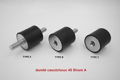 Waterproof Conscientious Silentbloc Caoutchouc Universel dureté 45 Shore A Shock-Resistant And Antimagnetic