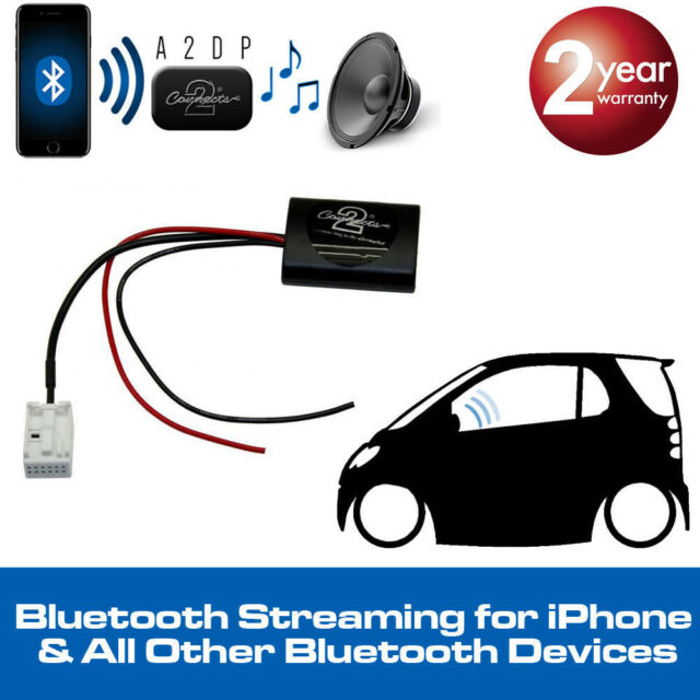 BMW serie 5 E60 A2DP Adaptador de transmisión de Bluetooth Ideal Para Iphone Teléfonos Inteligentes