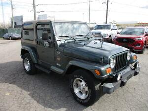2002 Jeep TJ AUTO  6 CYL. 4.0 L  SAHARA