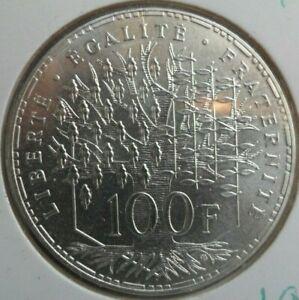 100-Francs-Pantheon-1982-FDC-piece-de-monnaie-Francaise-ARGENT-N1