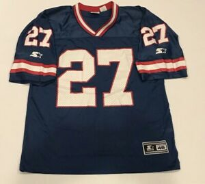 Vintage-New-York-Giants-Starter-Rodney-Hampton-Jersey-Mens-Med-46-NFL-Throwback