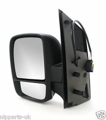 Left Passenger side Wing mirror glass for Citroen Dispatch 2007-2016 heated