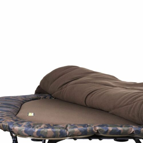 Faith Camou Bed /& Sleep Système 8 Jambe Carpe Chaise longue avec sac de couchage Angel Chaise Longue