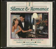 SILENCE & ROMANCE 1 CD Johnny Pearson Kajem Piet Noordijk EASY LISTENING