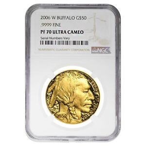 2006-W-1-oz-50-Proof-Gold-American-Buffalo-NGC-PF-70-UCAM