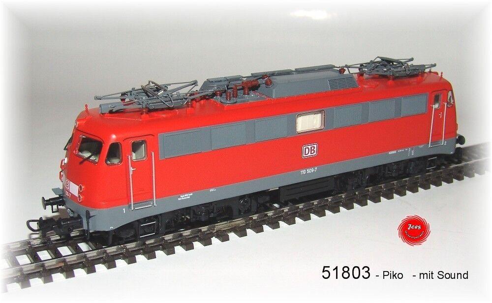 PIKO 51803-e-Lok-BR 110-di corrente alternata versione + Sound -110509-7 NUOVO