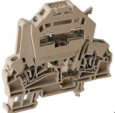 Sicherungsklemme 6,3x32 2,5mm² Weidmüller 161646 Zsi 2,5 Inkl. Endstück 1st.