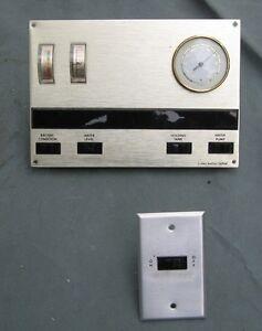 1970 S Vintage Rv Motorhome Monitor Display Panel Amp Switch