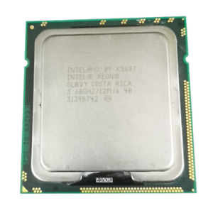 Intel Xeon X5687 Processor 3.6GHz 12MB Quad Core 6.4GT//s LGA1366 SLBVY