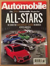 Automobile All Stars Audi BMW Cadillac Ford Honda Jaguar June 2014 FREE SHIPPING