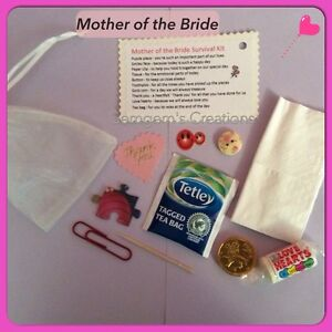 Mother of the Bride Or Groom Survival Kit - Wedding Gift eBay