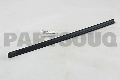 FRONT DOOR GLASS 6818090300 Genuine Toyota WEATHERSTRIP OUTER 68180-90300