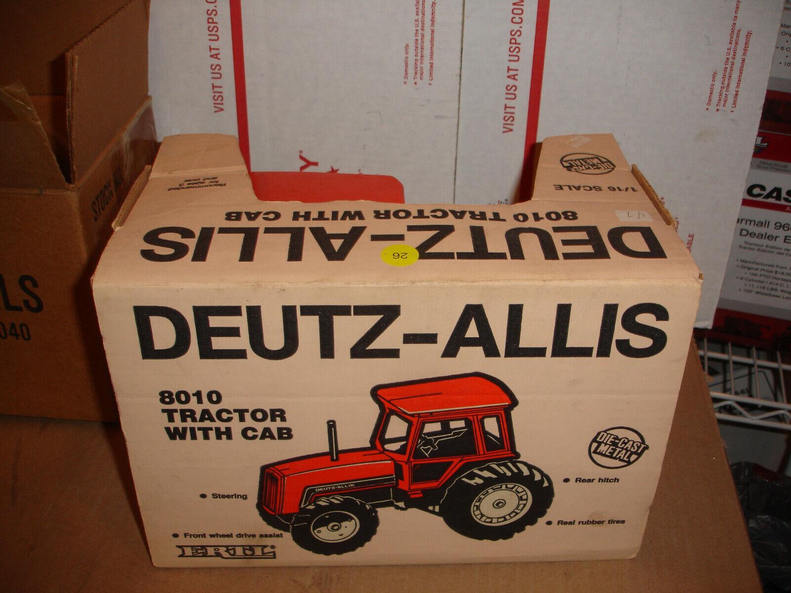 1 16 Deutz Allis jouet tracteur 8010