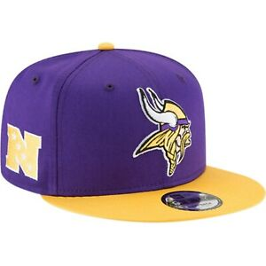 cheaper adbc9 cd71f Image is loading New-Era-NFL-Minnesota-Vikings-Baycik-9FIFTY-Snapback-