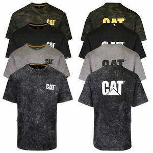 Caterpillar Men's Official Logo Trademark S/S T-Shirt (S03)