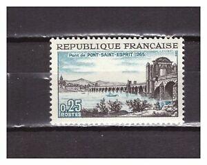 s24873a-FRANCE-1966-MNH-Pont-Saint-Esprit-1v