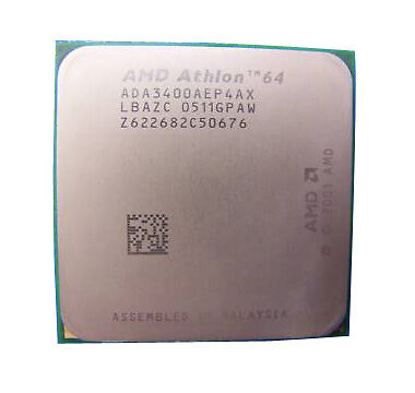 Amd Athlon 64 3400 2 4ghz Ada3400aep4ax Processor For Sale Online Ebay
