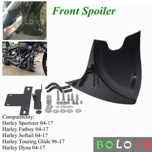 Front-Spoiler-Cover-Kit-For-Harley-Sportster-Dyna-Fatboy-Softail-V-ROD-Touring