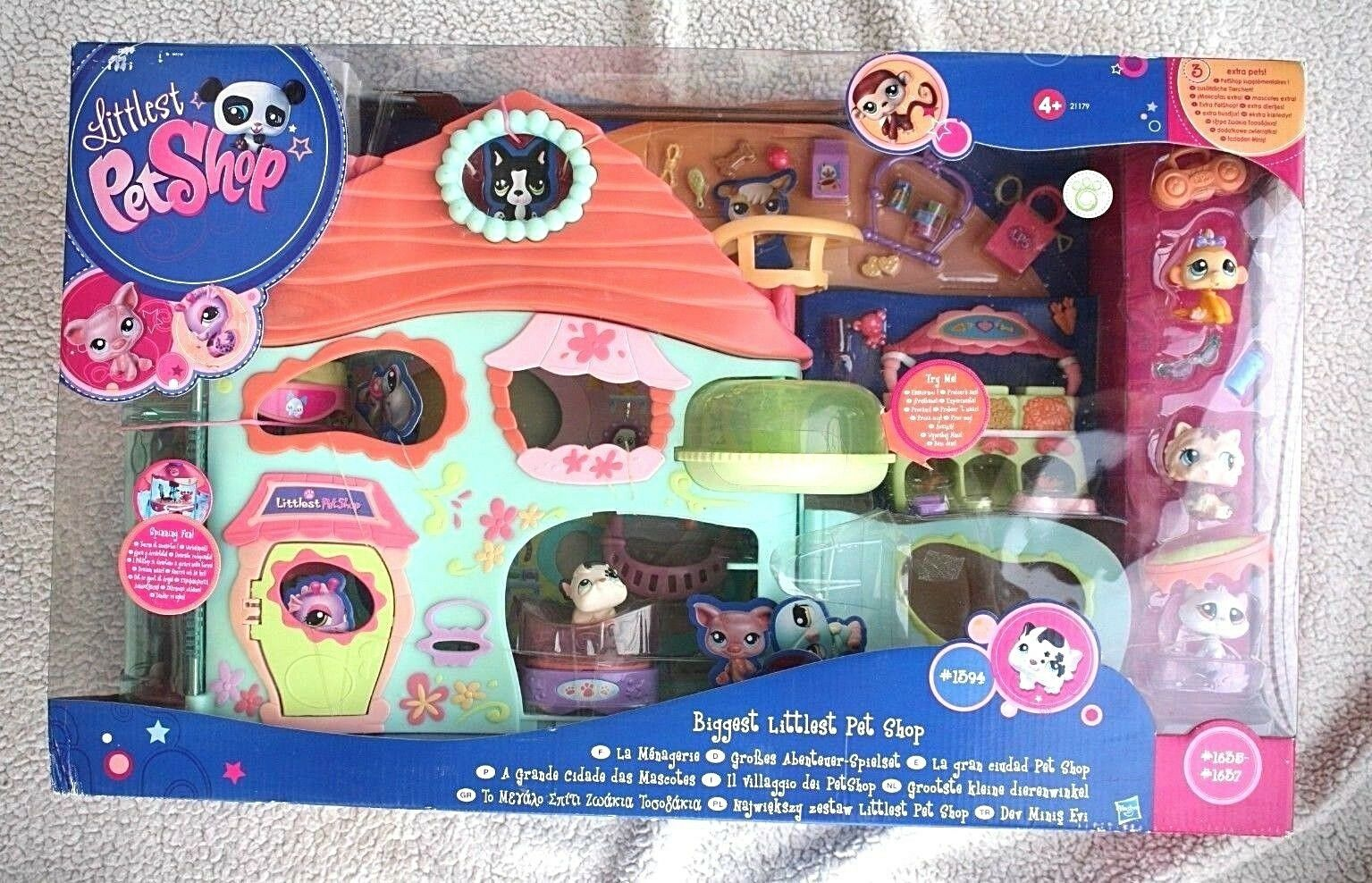 LITTLEST PET SHOP  BIGGEST LPS. Huge Item  IMPOSSIBLE TO FIND, BRAND NEW IN BOX
