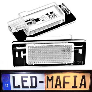 2x-Opel-INSIGNIA-Sports-Tourer-LED-Kennzeichenbeleuchtung-Module-6000K-P-amp-P
