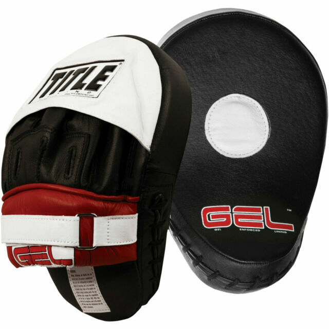 Title Boxing Gel Contoured Punch Mitts