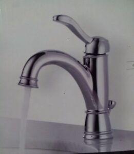 Delta Porter Chrome Single Handle High Arc Bathroom Faucet 15984lf