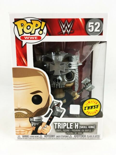 Funko Pop Triple H Skull King 2018, Toy NUOVO Wwe: Wwe