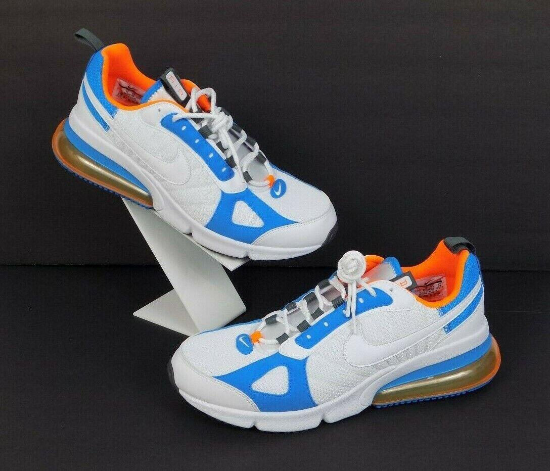 8ebc25a0d6 Nike Nike Nike Air Max 270 Futura Mens shoes bluee White orange Size 11 New  3e5297