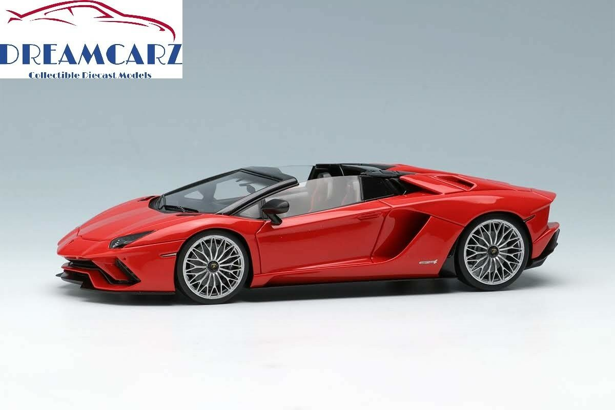 Make Up / EIDOLON EM401E 1/43 Lamborghini Aventador S Roadster 2017 Lmtd 30 pcs