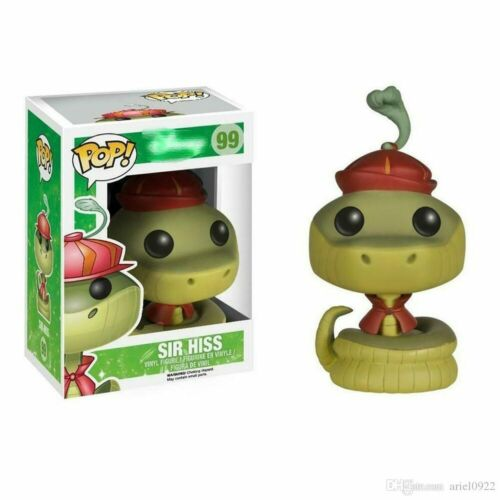 Funko Pop Robin Hood Sir Hiss ROBIN HOOD #97 #99 Action Figures Collection Toy