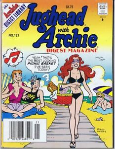 ORIGINAL-Vintage-1994-Jughead-with-Archie-Digest-121-GGA-Swimsuit-Cover