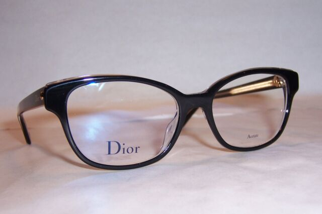 bc233fca964 Christian Dior Eyeglasses CD Montaigne 3 G99 Black 52mm RX Authentic ...
