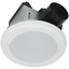 Bathroom Exhaust Fan Round w// Bluetooth Stereo Speakers LED Light New