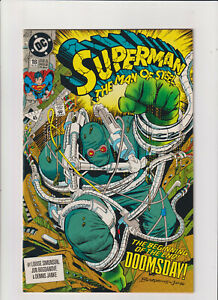 Superman-Man-of-Steel-18-VF-NM-9-0-DC-Comics-1st-Full-Doomsday