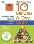 10 Minutes a Day: Math, Fourth Grade by DK Publishing, Sean McArdle (Paperback / softback, 2013)