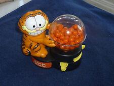 Old Garfield Bubble Gum Ball Machine