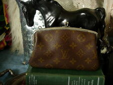 RARE Vintage LOUIS VUITTON FC Kisslock Coin Wallet  Handbag Accessory Case Saks