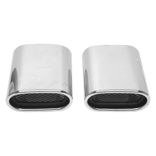 For BMW X5 2001-2006 URO Parts Stainless Steel Oval Bolt-On Exhaust Tip