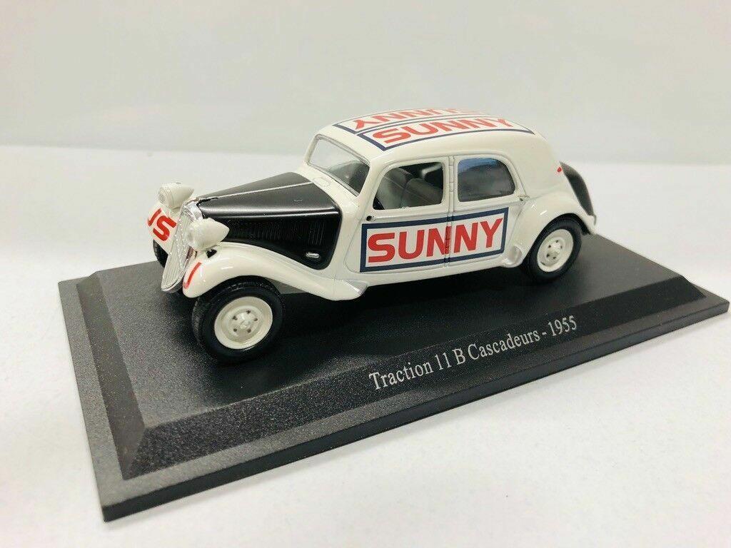 Citroen Traction Vorne 11B Stuntmän Sunny 1955 1  43 universell hobbies Atlas
