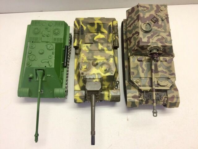 Solido And Degostini Lot 1/43 1/50 Tank Panzer Char Elefant Su152 Jagd Panther