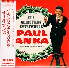 PAUL ANKA-IT'S CHRISTMAS EVERYWHERE-JAPAN MINI LP CD BONUS TRACK C94