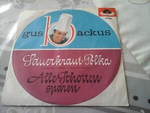 sauerkraut-polka-von-gus-backus-single-45-Polydor-24-642-rare