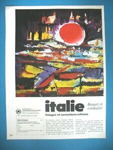 PUBLICITE-DE-PRESSE-ITALIE-BEAUTe-CORDIALITe-TOURISME-ILLUSTRATION-VITALE-1971