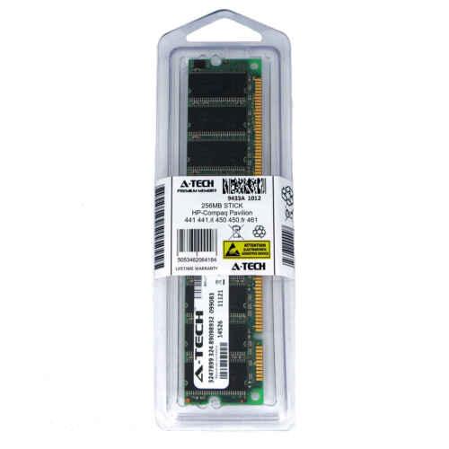 256MB DIMM HP Compaq Pavilion 441 441.it 450 450.fr 461 461.fr Ram Memory