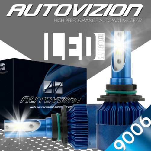AUTOVIZION LED HID Headlight kit 9006 White for 1996-2016 GMC Savana 2500