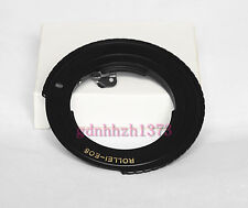 Rollei QBM lens to Canon EOS EF camera bodies adapter for 6D 60D 70D 700D 650D