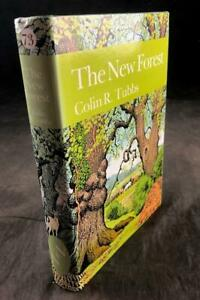 1986-NEW-NATURALIST-LIBRARY-NEW-FOREST-NUMBER-73-DUST-WRAPPER-1ST-EDITION