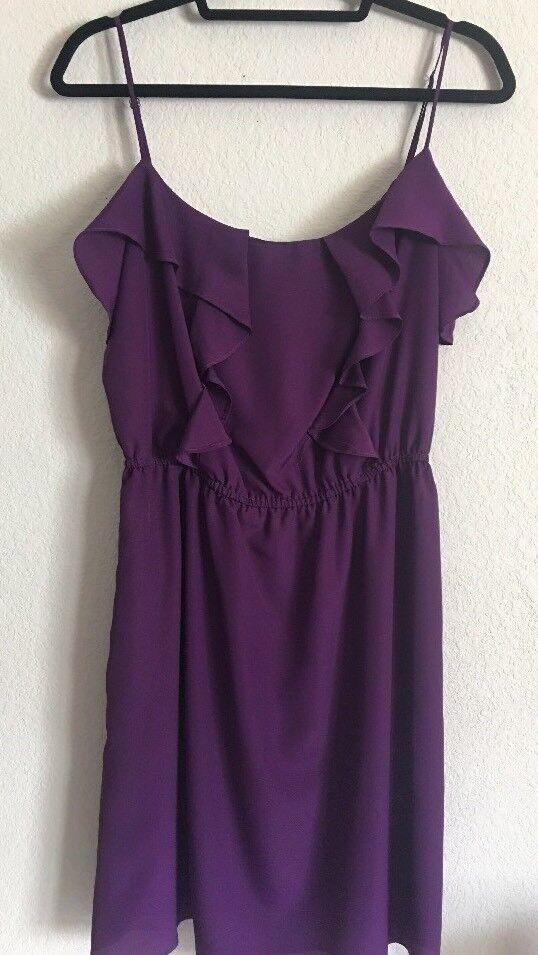 BCBG Generation Spaghetti Strap Purple Dress Size Medium