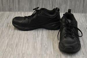 New-Balance-608v4-MX608V4B-Leather-Training-Shoes-Women-039-s-Size-9B-Black